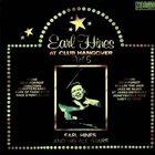 EARL HINES At Club Hangover - Vol 5 album cover