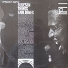 EARL HINES Blues In Thirds album cover