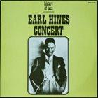 EARL HINES Earl Hines Concert album cover