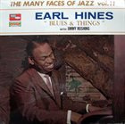 EARL HINES Earl Hines With Jimmy Rushing : Blues & Things album cover