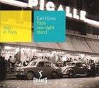 EARL HINES Jazz in Paris: Paris One Night Stand album cover