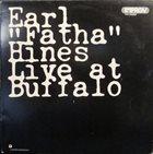 EARL HINES Live At Buffalo album cover