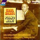 EARL HINES Piano Man! album cover