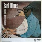 EARL HINES Piano Portraits of Australia album cover