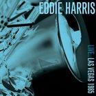 EDDIE HARRIS Live Las Vegas 1985 album cover