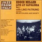 EDDIE MILLER Eddie Miller & Lino Patruno : Live At Capolinea Vol. 1 album cover