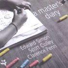 EDWARD SIMON A Master's Diary album cover