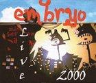 EMBRYO 2000 Live Vol.1 album cover