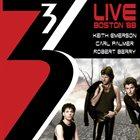 EMERSON LAKE AND PALMER 3 (Keith Emerson, Carl Palmer, Robert Berry) : Live Boston '88 album cover