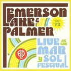 EMERSON LAKE AND PALMER Live At The Mar Y Sol Festival album cover