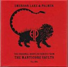 EMERSON LAKE AND PALMER Original Bootleg Series From The Manticore Vaults Vol. One album cover