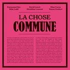 EMMANUEL BEX La chose commune album cover