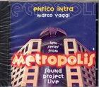 ENRICO INTRA Enrico Intra, Marco Vaggi : Metropolis album cover