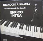 ENRICO INTRA Omaggio A Sinatra - The Voice And The Touch album cover