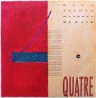 ENRICO RAVA Rava , D'Andrea , Vitous , Humair : Quatre album cover
