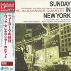 ERIC ALEXANDER Sunday In New York album cover
