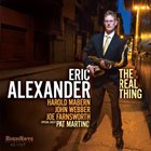 ERIC ALEXANDER The Real Thing album cover