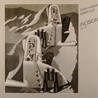 EVAN PARKER Incision (with Barry Guy) album cover