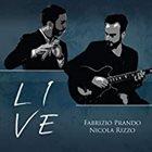 FABRIZIO PRANDO Fabrizio Prando & Nicola Rizzo : Live album cover