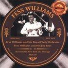 FESS WILLIAMS 1926-1930 album cover