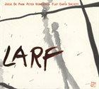 FLAT EARTH SOCIETY Larf album cover