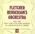 FLETCHER HENDERSON 1924-1926 - New York Columbia Sessions album cover