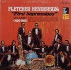 FLETCHER HENDERSON First Impressions (1924-1931) album cover
