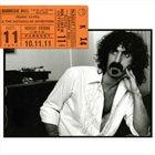 FRANK ZAPPA Carnegie Hall album cover