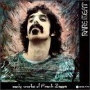 FRANK ZAPPA Rare Meat: Early Works of Frank Zappa album cover