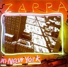 FRANK ZAPPA — Zappa in New York album cover