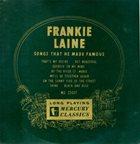 FRANKIE LAINE Frankie Laine Favorites album cover