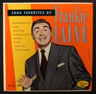 FRANKIE LAINE Song Favorites By Frankie Laine album cover