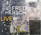 FRED HERSCH Live In Europe album cover