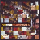 FRED HERSCH Personal Favorites album cover