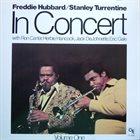 FREDDIE HUBBARD In Concert vol.1 album cover