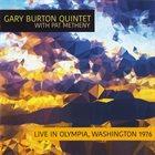 GARY BURTON Live In Olympia,Washington 1976 album cover