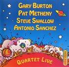 GARY BURTON Quartet Live album cover