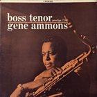 GENE AMMONS Boss Tenor album cover