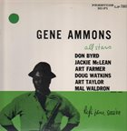 GENE AMMONS Jammin' With Gene (aka Not Really The Blues ) album cover