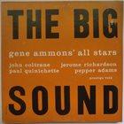 GENE AMMONS The Big Sound album cover