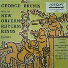 GEORG BRUNIS (GEORGE BRUNIES) George Brunis New Orleans Rhythm Kings   Volume 2 album cover