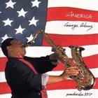 GEORGE ADAMS America album cover