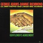 GEORGE ADAMS Gentleman's Agreement album cover