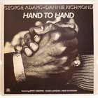 GEORGE ADAMS Hand To Hand (with Dannie Richmond) album cover