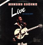 GEORGE BENSON Live In Concert album cover