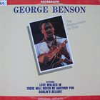 GEORGE BENSON The Masquerade Is Over album cover