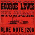 GEORGE LEWIS (CLARINET) George Lewis And His New Orleans Stompers ‎: Volume 2 album cover