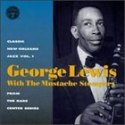 GEORGE LEWIS (CLARINET) Classic New Orleans Jazz, Volume 1 album cover