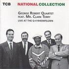 GEORGE ROBERT Live At The Q-4 Rheinfelden (aka George Robert Quartet feat. Mr. Clark Terry) album cover
