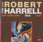 GEORGE ROBERT Live in Switzerland 1987 album cover